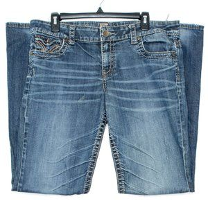 Kut From The Kloth Womens Jeans So Low Blue 12 CX